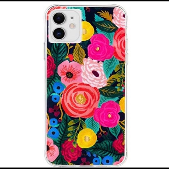 BN: iPhone 11 Pro Rifle Paper Case Floral Design